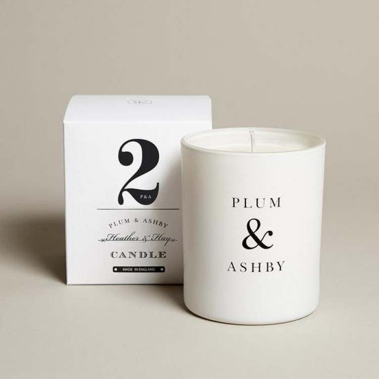 Plum & Ashby Heather & Hay Candle
