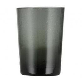 Charcoal Handmade Glass Tumbler