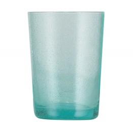 Turquoise Handmade Glass Tumbler