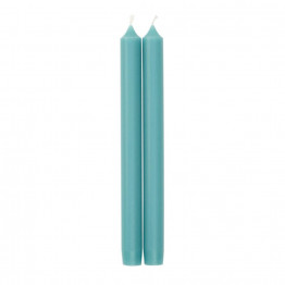 Pair of Luxury Candles Turquoise