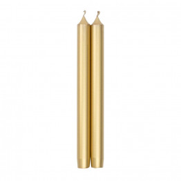 Pair of Luxury Candles Gold