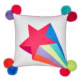 Shooting Star Square Cushion