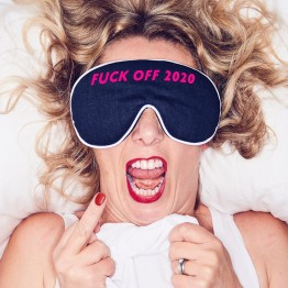 'F*** Off 2020' Eye Mask