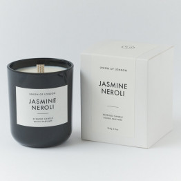 Union of London Jasmine Neroli Medium Black Candle