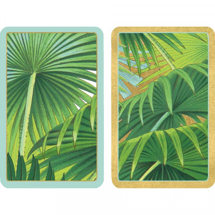 Palm Fronds Playing Cards