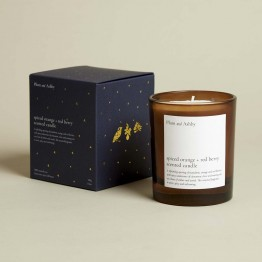 Plum & Ashby Spiced Orange & Red Berry Candle