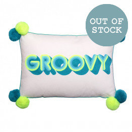GROOVY Stripes Cushion