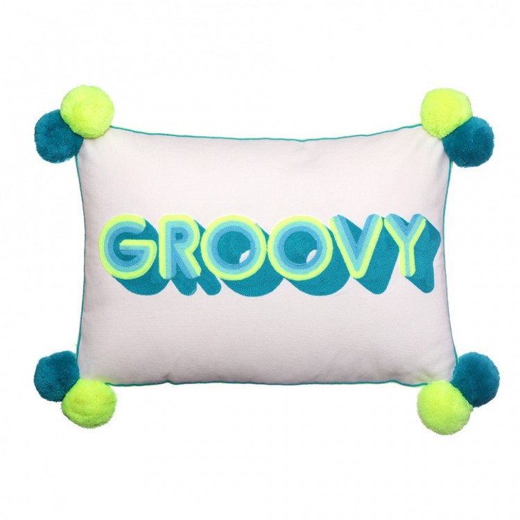 GROOVY Stripes Cushion