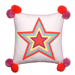 What a Star Square Cushion Bombay Duck