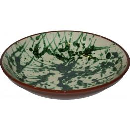 Large Ceramic Splatter Bowl