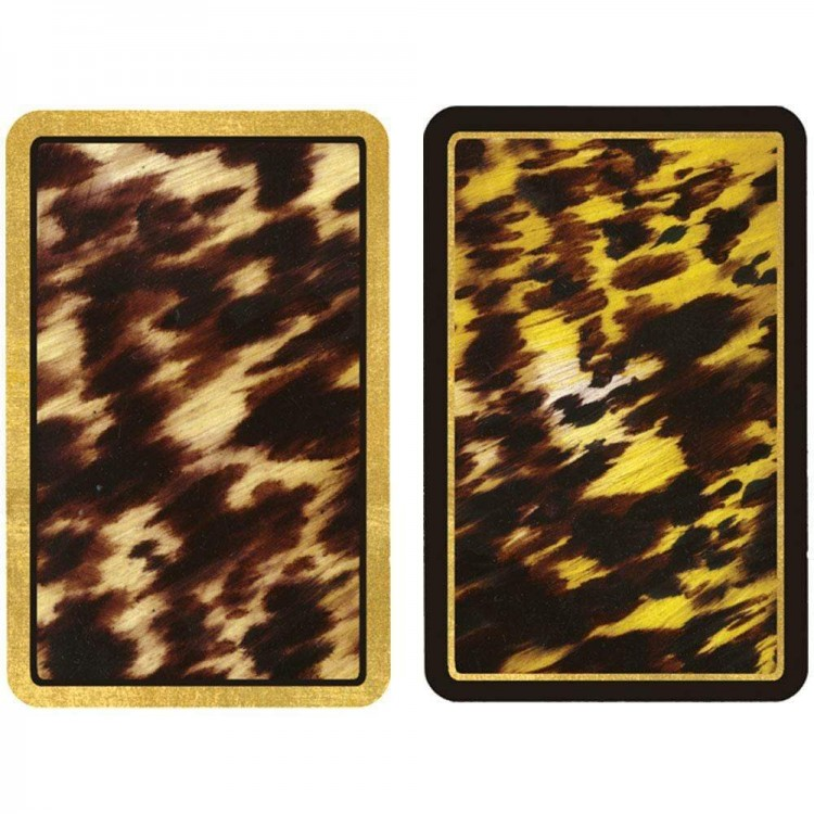 Tortoiseshell Playing Cards