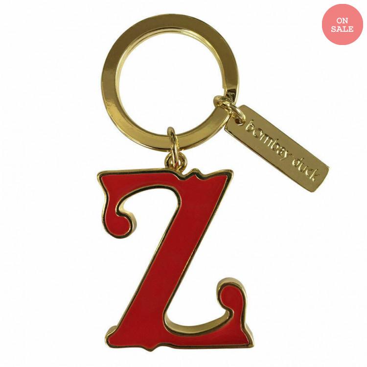 Bombay Duck Monogram Keyring Z